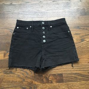 Madewell Shorts - Madewell High Rise Shorts ASO Taylor Swift, 26 (2)